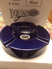 Don Salvatore Blue Four Ceramic Cigar Ashtray LA FLOR DE YNCLAN   New in Box