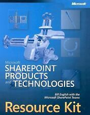 Microsoft SharePoint  Products and Technologies Resource Kit (Pro-Resource Kit)