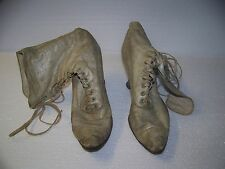 Antique Victorian Woman's Lace Up Boots