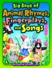 Big Book of Animal Rhymes, Fingerplays, and Songs-ExLibrary