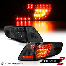 [TRD UPGRADE] 2009 2010 Toyota Corolla Smoke LED Rear Brake Signal Tail Lights