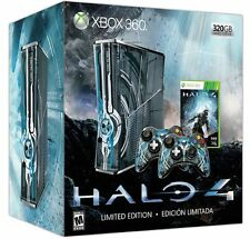 NEW FACTORY SEALED LIMITED EDITION HALO 4 MICROSOFT XBOX 360 CONSOLE AND GAME