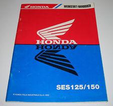 Werkstatthandbuch Honda SES 125 / 150 Nachtrag Reparaturanleitung Stand 2002!