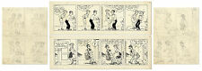 2 Chic Young Hand-Drawn ''Blondie'' 1967 Comic Strips