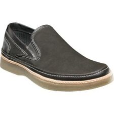 New Stacy Adams Mens Daystar GRAY  Suede SlipOn Loafer Boat Deck Shoes sz 9.5