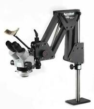 Jewelers Microscope with GRS® Tools 003-630 Acrobat Stand and LED Light