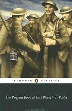 The Penguin Book of First World War Poetry (2007, Paperback, Revised)