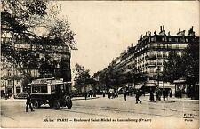 CPA Paris 5e-Boulevard Saint Michel au Luxembourg (324547)