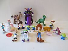 16 pc lot Disney Pixar Toy Story toys Buzz Woody Jessie Hamm Bo Peep Bullseye