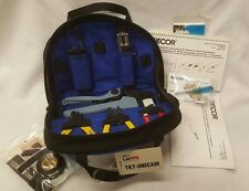 Siecor LANscape TKT-UNICAM Fiber Optic Connector Installation Tool Kit