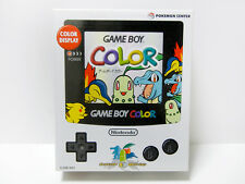 """GameBoy Color Pokemon Center Limited Edition Handheld System Pearl White"" New!"