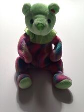 August Birthday bear  TY BEANIE BABY  RETIRED No Hang Tag