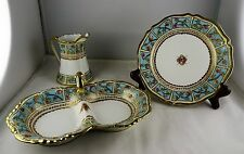 Asst. Noritake China Nippon - Divided Dish, Small Paneled Creamer, Small Plate
