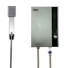 Tankless Bathroom Water Heater Electric Instant Hot Shower System Display 240V