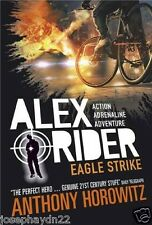NEW  (4) EAGLE STRIKE  - ALEX RIDER book  Anthony Horowitz NEW COVER blank