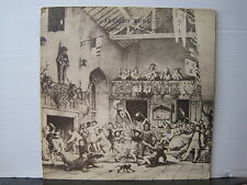 JETHRO TULL Minstrel In The Gallery 1975 UK CHRYSALIS RECORDS VINYL LP A-1U/B-1U