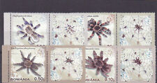 Romania 2010, Tarantulas, spiders, MNH, full series with labels