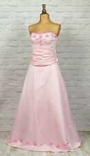New Womens Victorian Style Outfit Evening Prom Beaded Ball Gown Princess UK 16