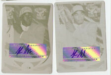 JR J.R Smith 2004 topps 2 card auto printing plate lot 1/1 rookie autograph