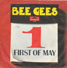 """7"""" - BEE GEES - FIRST OF MAY / LAMPLIGHT - Polydor 59260 - DE 1969"""