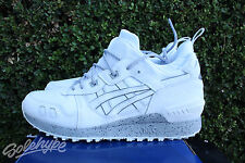 ASICS GEL LYTE MT SZ 9.5 WHITE GREY REFLECTIVE H6K1L 0101