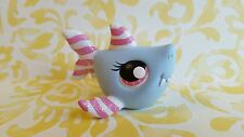 Shark Pastel Patriotic 4th of July * OOAK Painted Custom Littlest Pet Shop