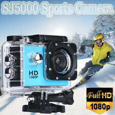 "SJ5000 Sports Camera Camcorder 2"" Full HD 1080P Helmet Action DV Cam Waterproof"