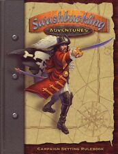Swashbucklking Adventures Main Book plus Supplements Lot- NEW