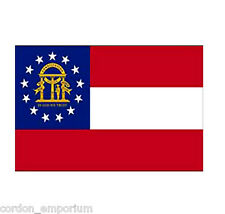 GEORGIA NEW FLAG POLYESTER US STATE 3 x 5 foot poly FLAG