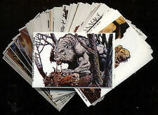 BERNIE WRIGHTSON STICKERS - 50 Card Sticker Set - FREE US Priority Mail Shipping
