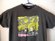 Vtg NOFX Concert Tour Shirt Ska Punk Rock Fat Mike Eric Melvin Band XL