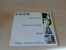 PAUL WELLER - GRANT LEE BUFFALO - BJORK - CHAKA DEMUS !!! RARE PROMO CD!!FRANCE!
