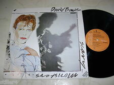 DAVID BOWIE Scary Monsters *RARE GERMAN CLUB EDITION VINYL LP 1980*