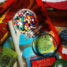 Unique GUMBALL MACHINE RING  mixed up dolly DESIGNER adjustable MINIATURE 3d FAB