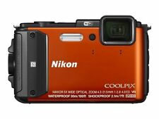 Nikon Coolpix AW130 Waterproof Digital Camera - Orange