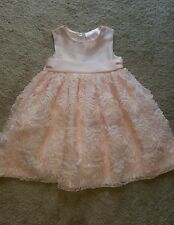 little girls pink Valentine's Day size 4t toddler dress by American Princess
