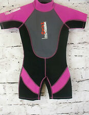 KIDS NALU SHORTIE WETSUIT SWIMSUIT SURF SWIM CHEST SIZE 24'' (92)