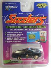 Camaro Highway Patrol Black Police Car 1996 Playing Mantis Sizzlers Star New