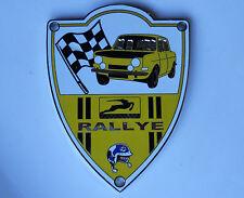 SIMCA Rallye 1000 Top quality cromato griglia Badge ottime condizioni Heavy Duty