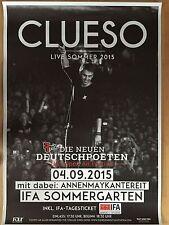 CLUESO I 2015 BERLIN  orig.Concert Poster -- Konzert Plakat  A1 xx