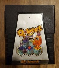 Qbert (Atari 2600, 1983) (NTSC-U/C) Tested & Working