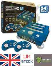 Hyperkin Retron 3 Console (Blue) Plays SNES, NES and Megadrive games!
