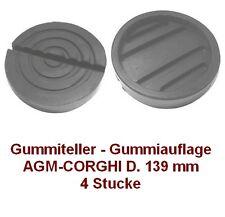 Gummiteller für Hebebühne AGM - CORGHI D. 139 mm  - Gummiauflagen