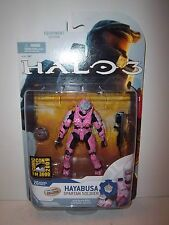New & Sealed! Halo 3 Series 5 **D&R LINEUPS EXCLUSIVE PINK HAYABUSA** RARE! MINT