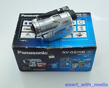 PANASONIC NV-GS70 CAMCORDER BOXED 3CCD MINI DV DIGITAL VIDEO CAMERA MINIDV TAPE