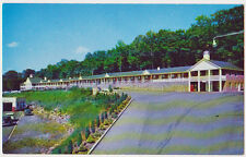 FORT LEE NEW JERSEY NJ ca 1950's Riviera Motor Hotel Rte. 4 Vintage Postcard PC