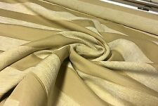 SUPER LUXURIOUS BEIGE CREAM CHENILLE UPHOLSTERY FABRIC 2.8 METRES