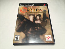 Contra Shattered Soldier (Playstation PS2) Black Label Complete LN Perfect Mint!