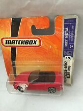 MATCHBOX MERCEDES BENZ SL55 AMG NEU NEW OVP SHORT CARD L0370 #19 II