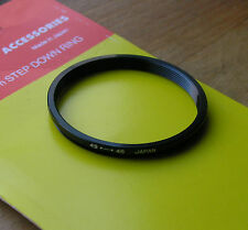 49mm to 46mm filter step down   ring used thin design japan